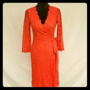 Diane von furstenberg Julianna wrap dress.